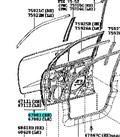 Дверь для Lexus LX570