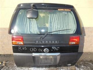 Дверь задняя Nissan Elgrand Уссурийск