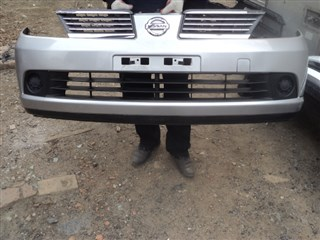 Бампер Nissan Tiida Latio Владивосток