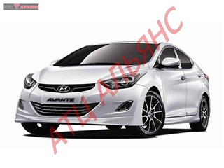 Капот Hyundai Avante Владивосток