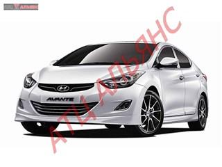 Капот Hyundai Elantra Владивосток