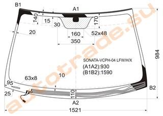 Стекло Hyundai Sonata Иркутск