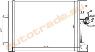Радиатор кондиционера Land Rover Range Rover Evoque Улан-Удэ