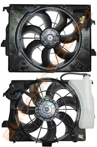 Диффузор радиатора Hyundai Solaris Новосибирск
