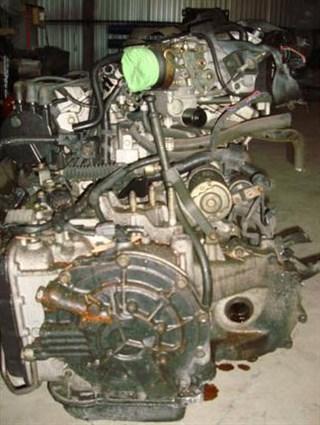 Двс с кпп Mazda Efini MS-8 Томск