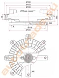 Вискомуфта для Mitsubishi Montero Sport