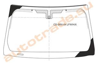 Стекло Cadillac SRX Новосибирск