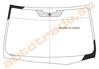 Стекло Acura TL Новосибирск