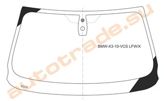 Стекло BMW X3 Владивосток