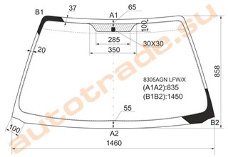 Стекло Toyota Avensis Wagon Улан-Удэ