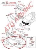 Губа для Hyundai Ix35