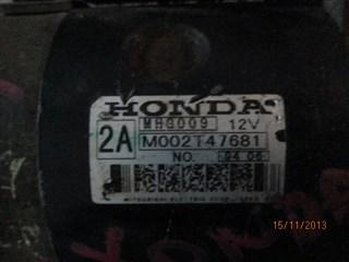 Стартер Honda Z Владивосток