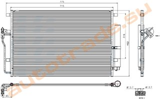 Радиатор кондиционера Volkswagen Crafter Красноярск