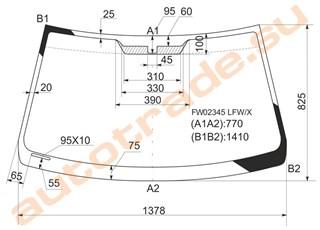 Стекло Lexus IS300 Красноярск