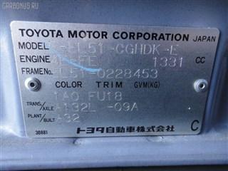 Подкрылок Toyota Tercel Владивосток