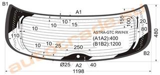 Стекло Chevrolet Astra Улан-Удэ