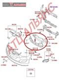 Решетка бамперная для Hyundai Veloster