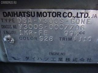 Бачок расширительный Daihatsu Boon Новосибирск