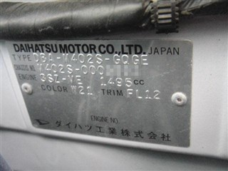 Решетка под лобовое стекло Daihatsu Coo Уссурийск