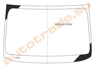 Стекло Nissan NV200 Vanette Владивосток