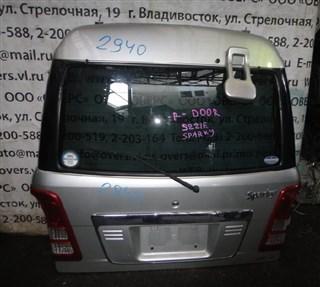 Дверь задняя Toyota Sparky Владивосток