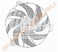 Диффузор радиатора для Peugeot 206