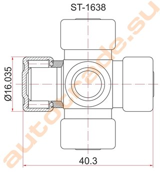 Крестовина рулевого управления Nissan Pathfinder Иркутск
