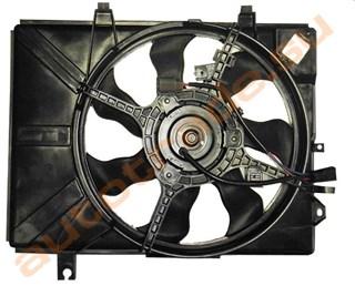 Диффузор радиатора Hyundai Getz Новосибирск