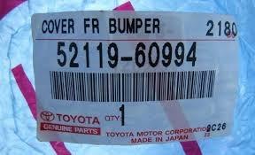 Бампер Toyota Land Cruiser 200 Владивосток