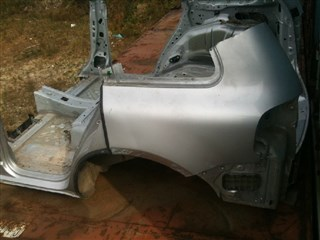 Половина кузова Volkswagen Touareg Владивосток