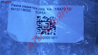 Рамка радиатора KIA Cerato Владивосток