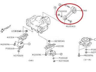 Подушка двигателя Subaru Outback Новосибирск