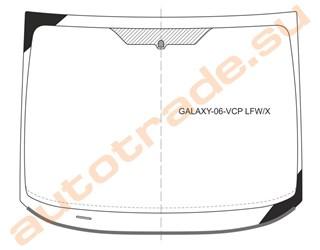 Стекло Ford Galaxy Новосибирск