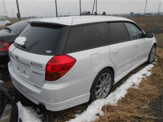 Бочка глушителя Subaru Legacy Владивосток