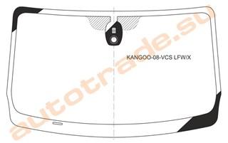 Стекло Renault Kangoo Владивосток