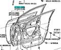 Дверь для Lexus RX270