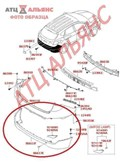Бампер для Hyundai Ix35