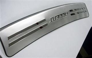 Накладка на бампер Hyundai Accent Уссурийск