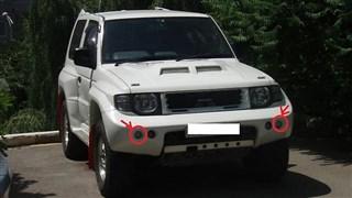 Туманка Mitsubishi Pajero Evolution Владивосток