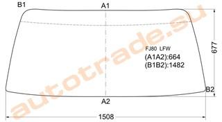Стекло Lexus LX450 Улан-Удэ