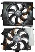 Диффузор радиатора для Hyundai Solaris