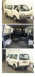 Порог для Nissan Vanette Van