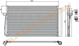 Радиатор кондиционера BMW 6 Series Иркутск