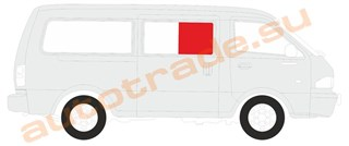 Стекло Mitsubishi L300 Иркутск