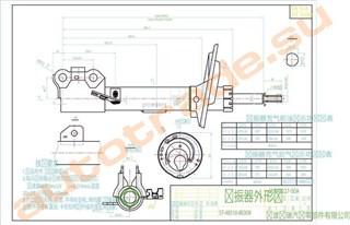 Стойка Lexus ES350 Улан-Удэ