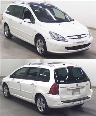 Зеркало Peugeot 307 Новосибирск