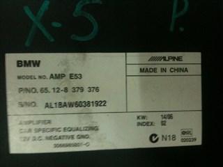 Усилитель магнитофона BMW X5 Владивосток