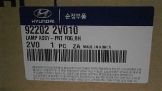 Туманка Hyundai Veloster Владивосток