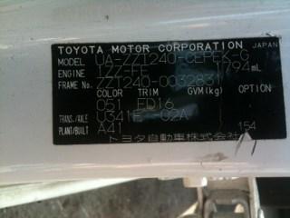 Бачок стеклоомывателя Toyota Allion Новосибирск