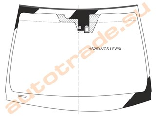 Стекло Lexus HS250H Владивосток